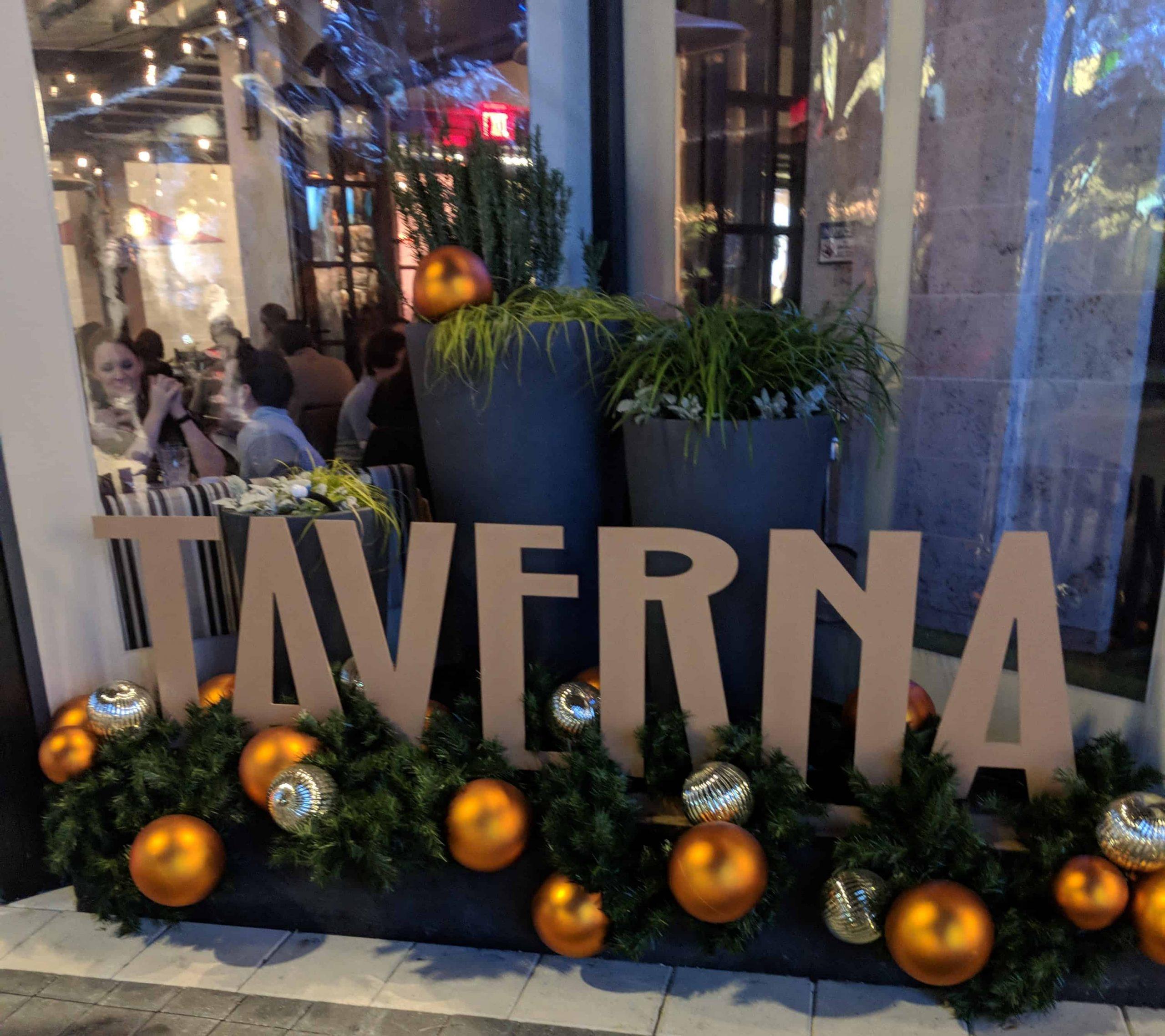 Date Night at Taverna