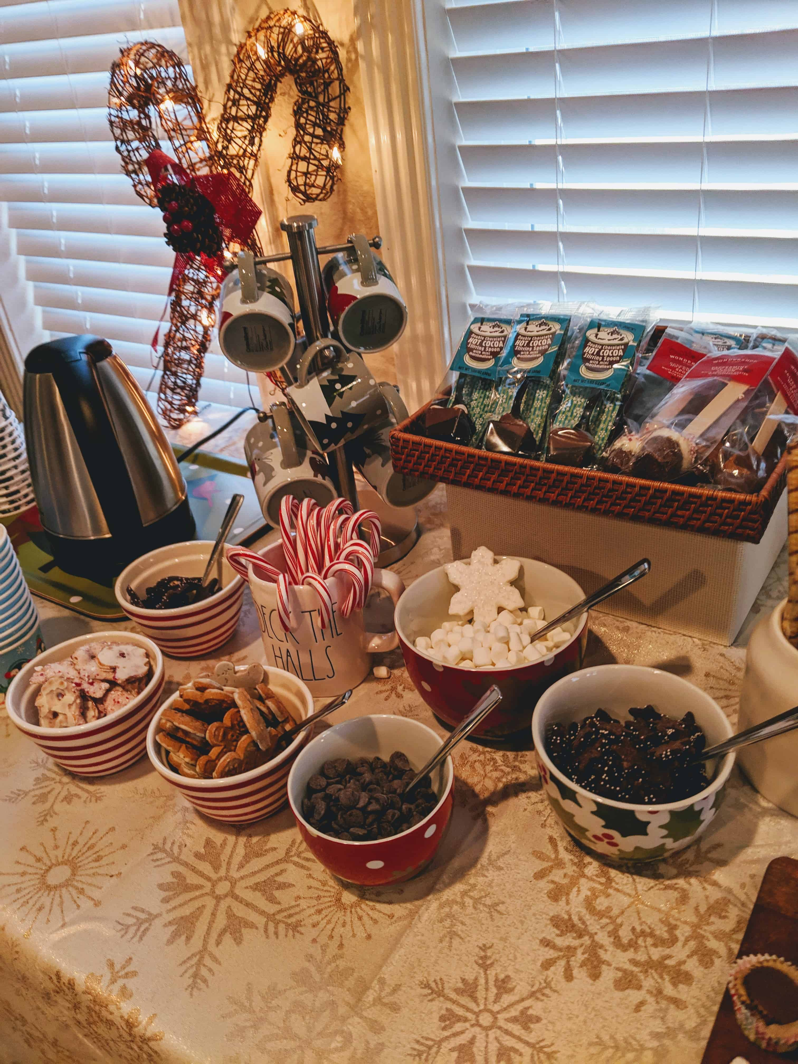 Holiday Playdate Ideas: menu and activities
