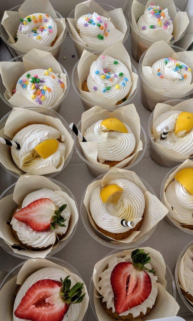 Summer Cupcakes, Summer dessert ideas