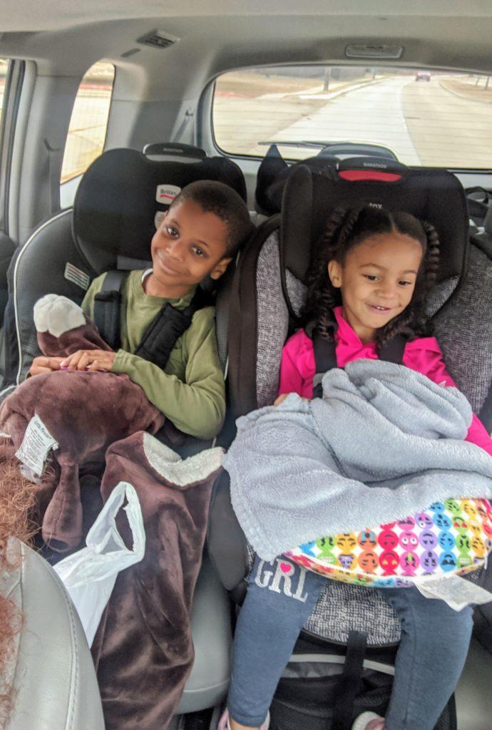 Family trip to San Antonio