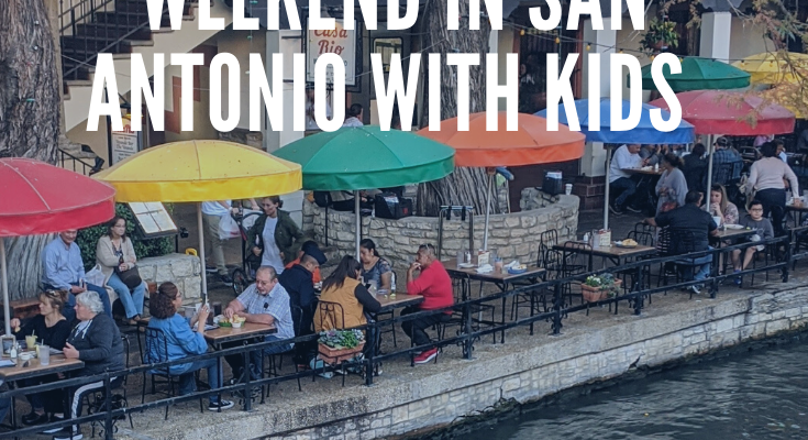 Fall Travel:  A Weekend in San Antonio with kids