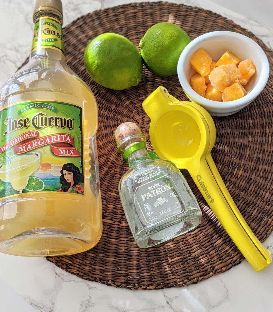 Easy Mango Margarita