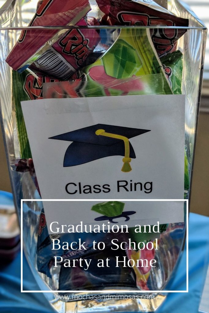 Graduation and Back to School Party at Home