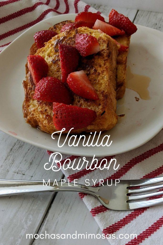 vanilla bourbon maple syrup