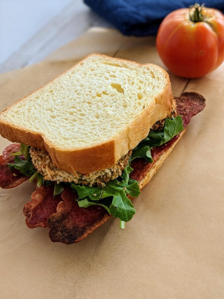 Air Fried Green Tomato BLT