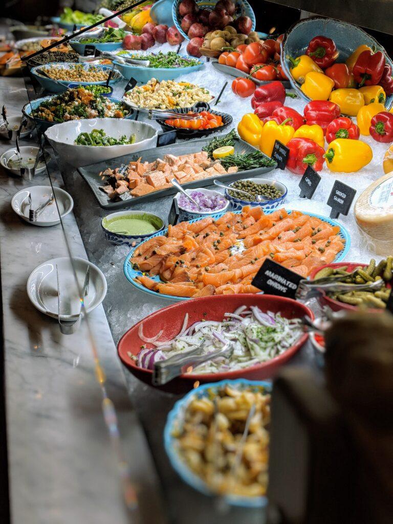 Salad Bar at Fogo De Chao