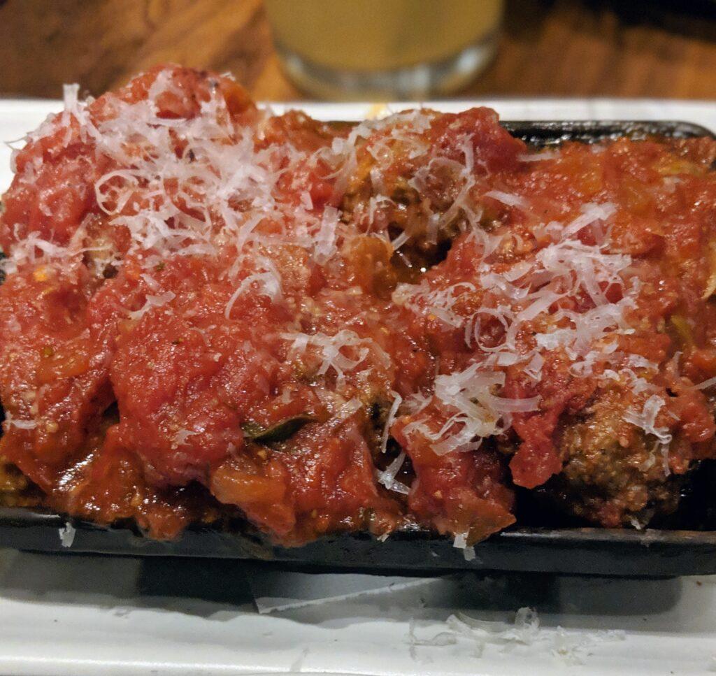 Meatballs at North Italia Legacy West