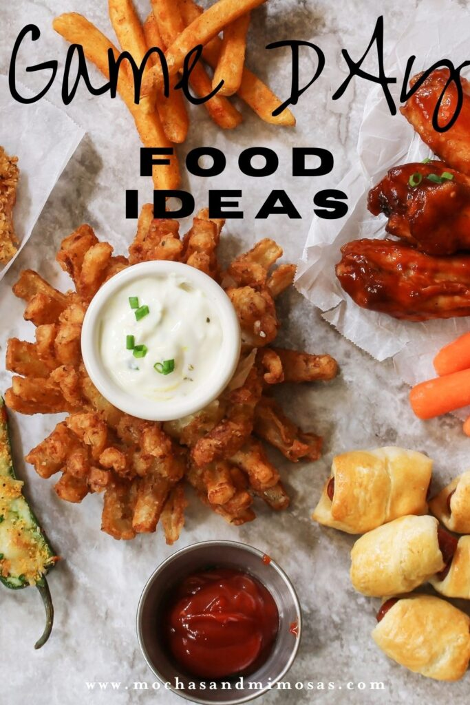 game day food ideas